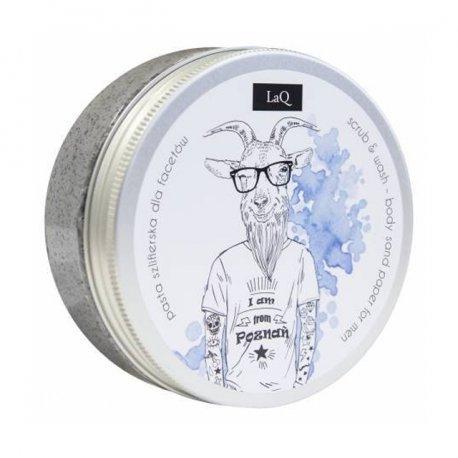 LaQ Zestaw Duży Kozioł Żel pod Prysznic, Peeling myjący, Mydełko - Zestaw dla mężczyzn
