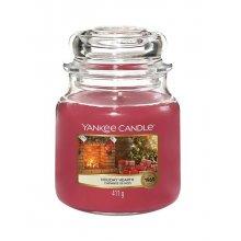 Yankee Candle Holiday Hearth słoik średni świeca zapachowa