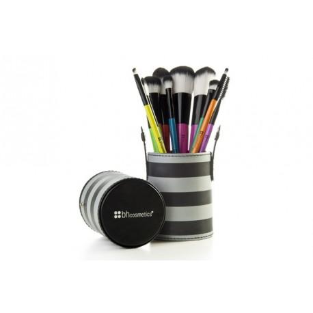Bh-Cosmetics-Pop-Art0Brush-Set-zestaw-10-pędzli-pędzle-do-makijażu-drogeria-internetowa-puderek.com.pl