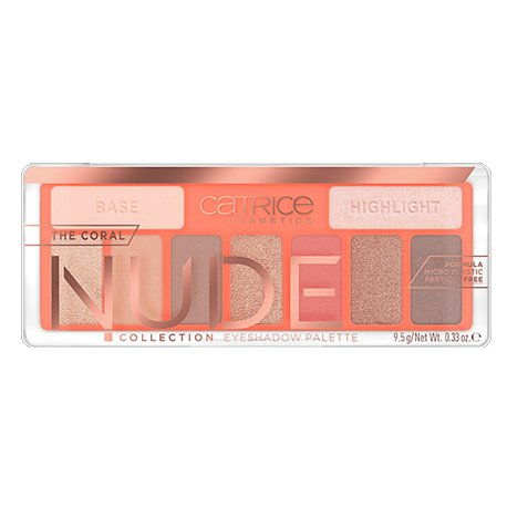 Catrice The Coral Nude Collection paleta 9 cieni do powiek 010 Peach Passion