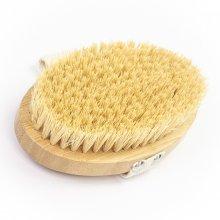 Body Rituals drewniana szczotka tampico do masażu ciała na sucho