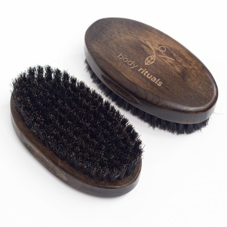 Body Rituals szczotka kartacz do brody z drewna bukowego i włosiem dzika