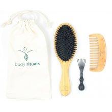 Body Rituals - Ritual Hair Set - zestaw do włosów - szczotka do włosów, grzebień, czyścik