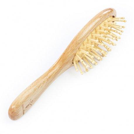 Body Rituals mała drewniana szczotka do włosów