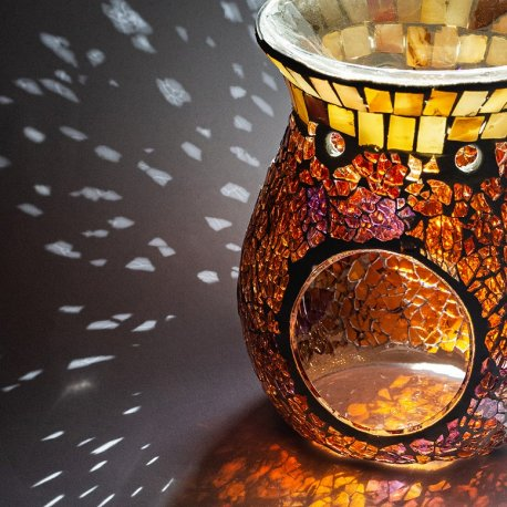 Kominek do wosków - Pearl & Lava Mosaic - mozaika