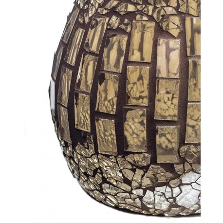 Kominek do wosków - Nude Crackle Mosaic - mozaika