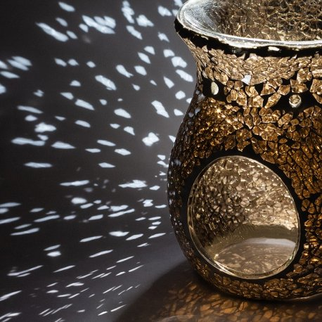 Kominek do wosków - Amber Light Mosaic - mozaika