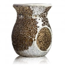 Kominek do wosków - Amber Light Crackle - mozaika