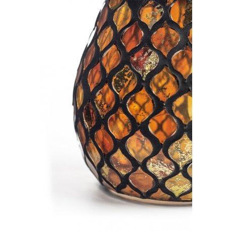 Kominek do wosków - Gold Amber Mosaic - mozaika