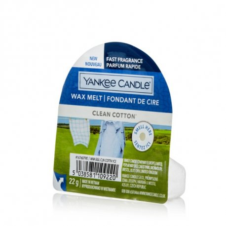 Yankee Candle Clean Cotton wosk zapachowy