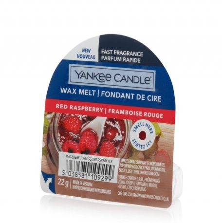 Yankee Candle Red Raspberry wosk zapachowy