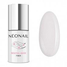 Neonail Revital Base Fiber - Shiny Queen - baza budująca z włóknami nylonowymi 7,2 ml