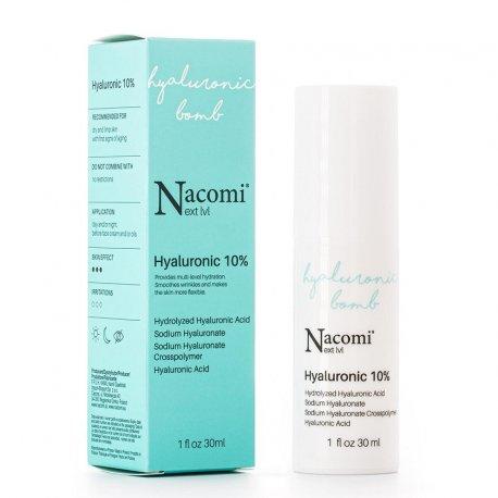 Nacomi Next Level Serum Hyaluronic 10% z kwasem hialuronowym 30 ml