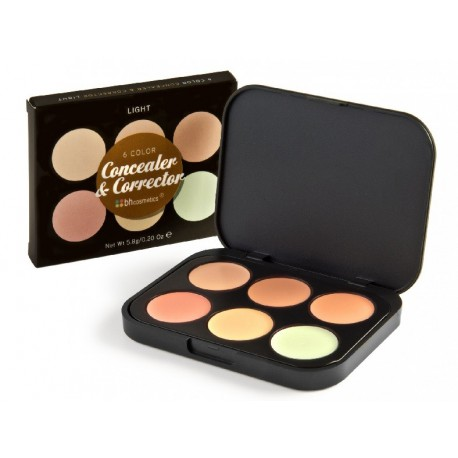 Bh-Cosmetics-Concealer-and-Corrector-paleta-kamuflaży-drogeria-internetowa