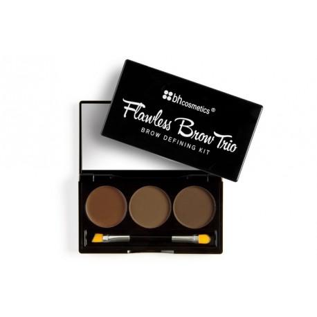 Bh-Cosmetics-Flawless-Brow-Trio-zestaw-do-stylizacji-brwi-light-drogeria-internetowa-puderek.com.pl