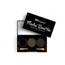 Bh Cosmetics Flawless Brow Trio Dark zestaw do stylizacji brwi