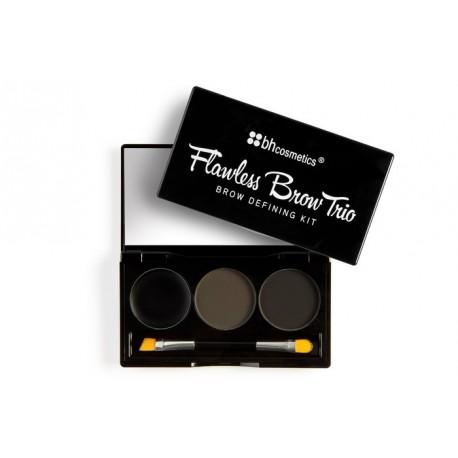 Bh-Cosmetics-Flawless-Brow-Trio-zestaw-do-stylizacji-brwi-dark-drogeria-internetowa-puderek.com.pl