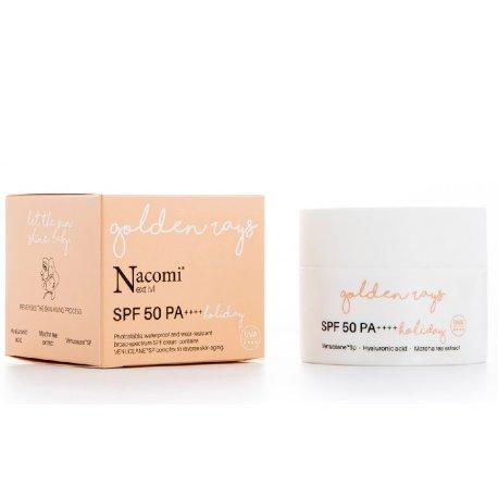 Nacomi Next Level Krem przeciwzmarszczkowy SPF 50+ UV Holiday 50 ml