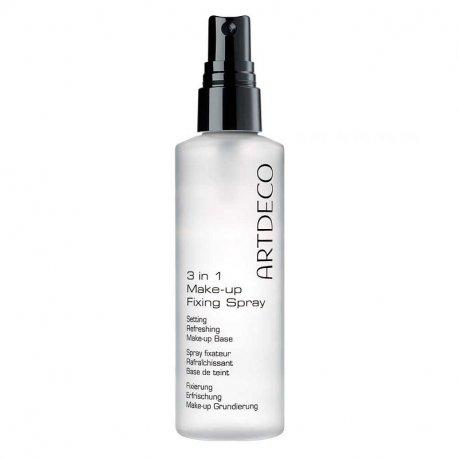 Artdeco 3 in 1 Make-up Fixing Spray - spray utrwalająco - odświeżający do twarzy 100 ml