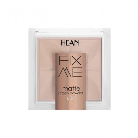 Hean Fix me matte - 63 warm - Puder matujący w kamieniu 8 g