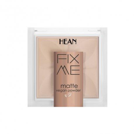 Hean Fix me matte - 61 Natural - Puder matujący w kamieniu 8 g