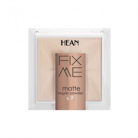 Hean Fix me matte - 60 Light - Puder matujący w kamieniu 8 g