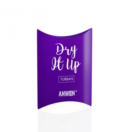 Anwen - Dry It Up - Fioletowy turban