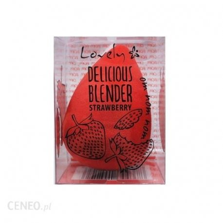 Lovley Delicious Blender strowberry - gąbka do aplikacji podkładu