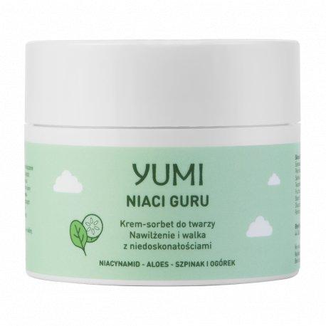 Yumi Krem-Sorbet do twarzy - Nawilżenie i Równowaga 50 ml