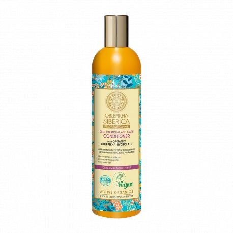 Natura Siberica Wegańska Rokitnikowa odżywka do włosów - oczyszczenie 400 ml