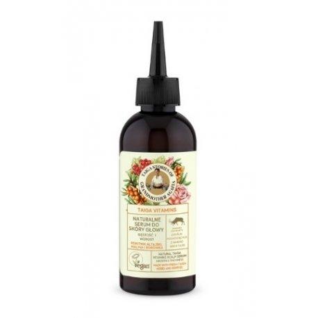 Babuszka Agafia Naturalne serum do skóry głowy 170  ml
