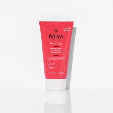 Miya Cosmetics HAND.lab Regenerujące serum do rąk z prebiotykami 75 ml