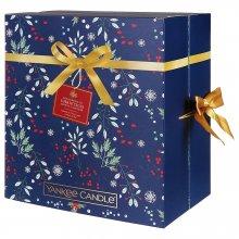 Yankee Candle Countdown to Christmas - zestaw świąteczny - kalendarz adwentowy (książka)