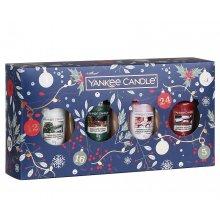 Yankee Candle Countdown to Christmas - zestaw świąteczny 4 samplerów
