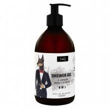 LaQ Żel pod Prysznic 8w1 dla Mężczyzn - Doberman - 500ml