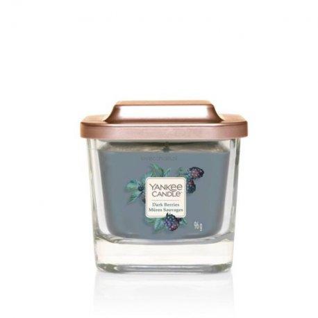 Yankee Candle Elevation - Dark Berries - mała świeca zapachowa (1 knot) 96 g