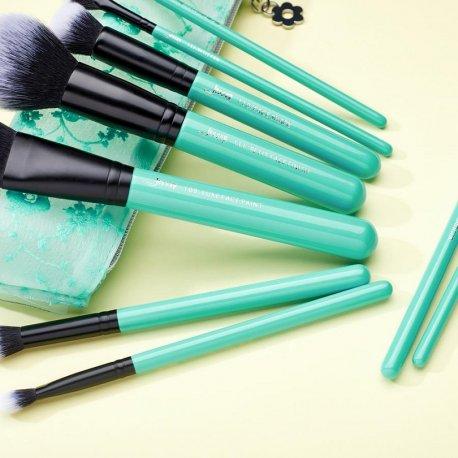 Jessup T321 Turquoise Zestaw 9 Pędzli do Makijażu