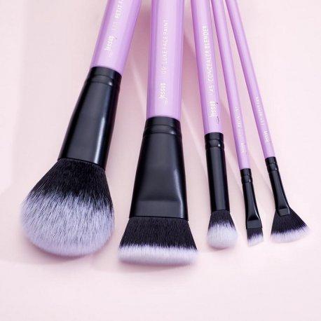 Jessup T320 Pansy Purple Zestaw 9 Pędzli do Makijażu