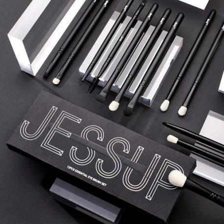 Jessup T322 Essential Eye Brush Set zestaw 12 pędzli do makijażu oczu