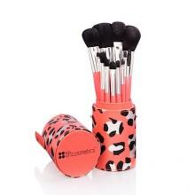 BH Cosmetics Wild brush set zestaw 12 pędzli w tubie