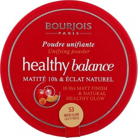 Bourjois-Healthy-Balance-53-Beige-Clair-puder-matujący-drogeria-internetowa-puderek.com.pl