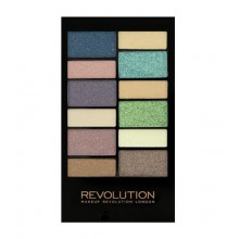 Makeup Revolution Beach & Surf Palette paleta 12 cieni do powiek