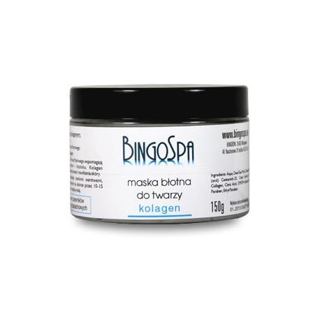 BingoSpa-maska-błotna-z-kolagenem-150-g-trądzik-łojotok-nawilżenie