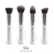 Nanshy-Gobsmack-Gorgeous-zestaw-4-pędzli-do-makijażu-twarzy-Pearlescent-White