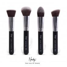 Nanshy-Gobsmack-Gorgeous-zestaw-4-pędzli-do-makijażu-twarzy-Pearlescent-Onyx