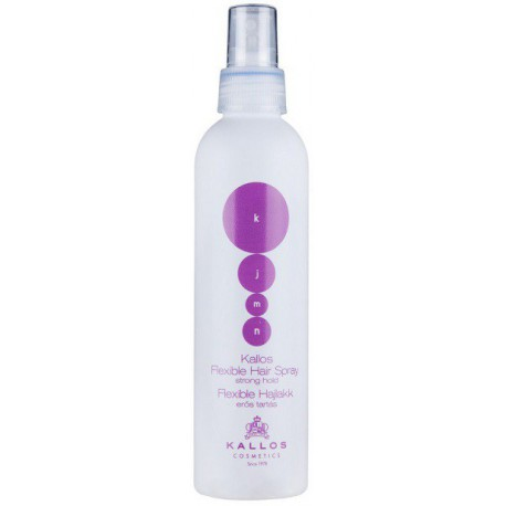 Kallos-Flexible-Hair-Spray-Strong-Hold-mocny-lakier-w-spray'u-200-ml-drogeria-internetowa-puderek.com.pl