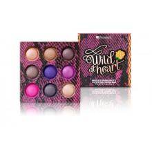 BH Cosmetics Wild at Heart Baked Eyeshadow Palette paleta 9 wypiekanych cieni