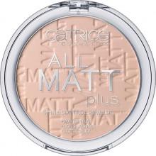 Catrice All Matt Plus długotrwały puder matujący 015 Natural Beige
