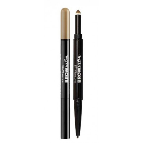 Maybelline-Brow-Satin-Duo-Pencil-Dark-Blonde-dwustronna-kredka-do-brwi-drogeria-internetowa-puderek.com.pl