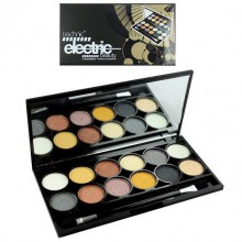 Technic Electric Beauty Metalix Eyeshadow paletka 12 cieni do powiek